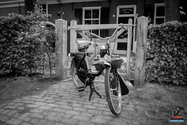Solex foto zwart/wit